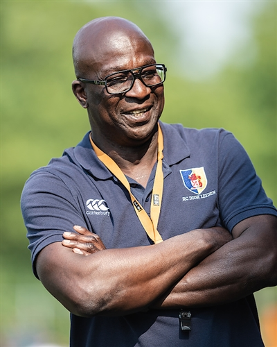 DIOK verlengt contract met Head of Rugby Andy Egonu
