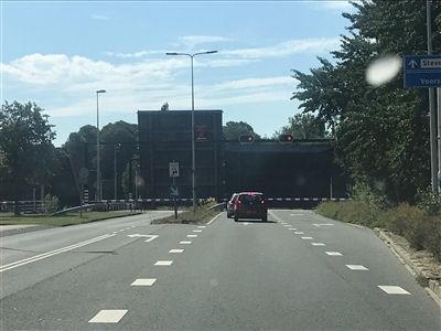 Waddingerbrug weer in storing